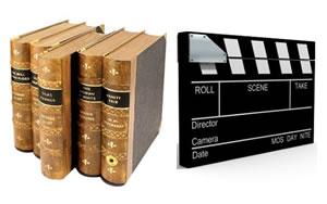 literatura, cine y televisión