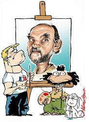 Roberto Fontanarrosa y sus personajes