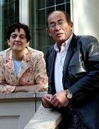 Juan Madrid y Pilar Lozano