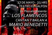 Los flamencos cantan y bailan a Mario Benedetti