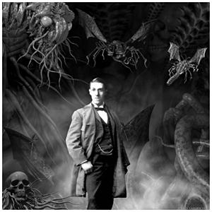 Lovecraft creó el género de horror cósmico