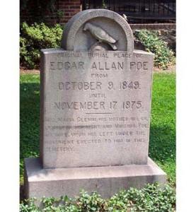 Poe murió solitario a los 40 años de edad