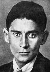 A 128 del nacimiento de Franz Kafka