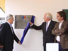Inauguración de la casa-museo de Vicente Huidobro