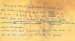 Borges manuscrito