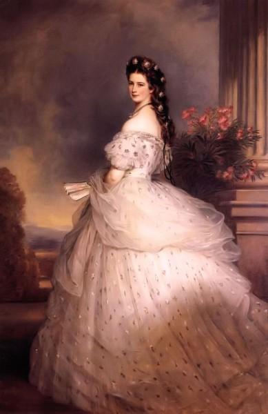La Dama Blanca e Isabel de Baviera (Sissí). Mujeres protagonistas