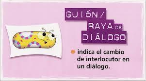 El uso de la raya en los diálogos