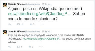 Twitter de Claudia Piñeiro