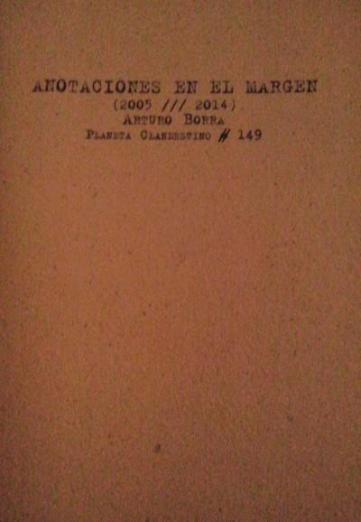 Las fronteras en los márgenes de Arturo Borra I