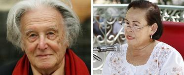 Ralph Giordano y Rosa María Peraza