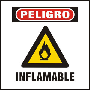 Césped, atribuirse e inflamable
