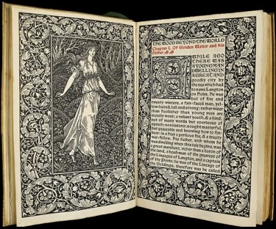 """El bosque del fin del mundo"", de William Morris"