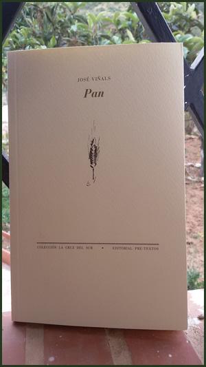 «Pan» de José Viñals —Editorial Pre-textos—