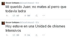 Twitter de Collazos