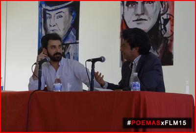 """Javier Vela y José Antonio Mesa Toré presentan """"Hotel Origen"""" en la #FLM15"""