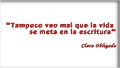 Entrevista a Clara Obligado en la #FLM15