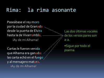 Analizar La Estructura Métrica De Un Poema Poemas Del Alma