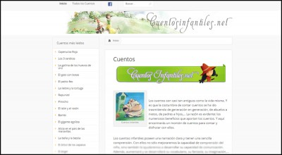 Algunas webs de cuentos infantiles