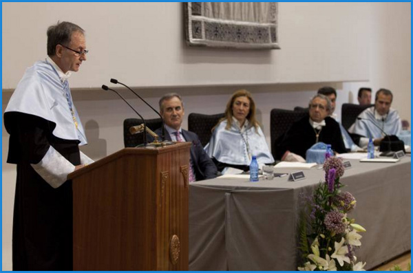 Antonio Soler, nuevo Dr. honoris causa