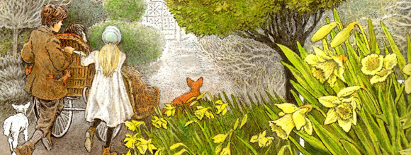 El jard n secreto de frances hodgson burnett poemas for Shunga jardin secreto