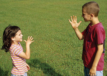 Acerca de la comunicación y las lenguas de señas