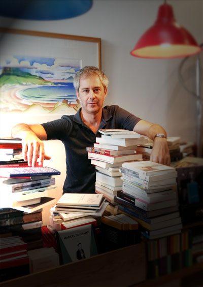 """Enrique del Río (Librería Áncora) en """"Libreros amigos"""""""