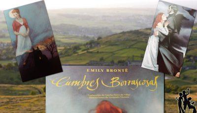 «Cumbres borrascosas», de Emily Brontë —Editorial Tres Hermanas—