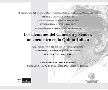 Conferencia sobre Ramón J. Sender