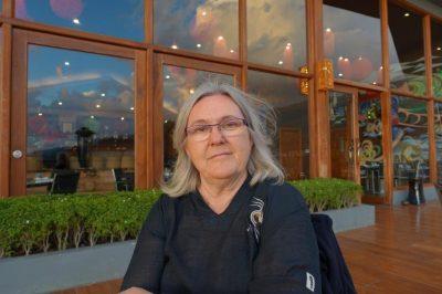 Pilar Bellver en una foto de la web A Literatura