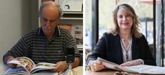 Juan Kruz Igerabide y Mercedes Monmany