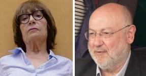 Antònia Vicens y Juan Eslava Galán
