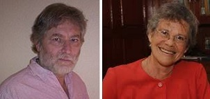 Carlo Frabetti y María López Vigil