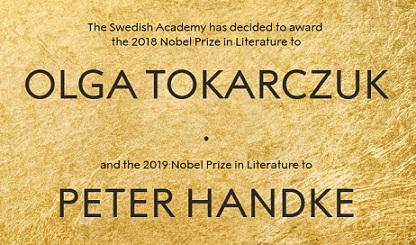 Nobel de Literatura 2018 y 2019