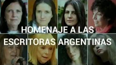 Homenaje a escritoras argentinas