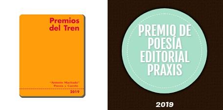 Premios del Tren y Premio de Poesía Editorial Praxis