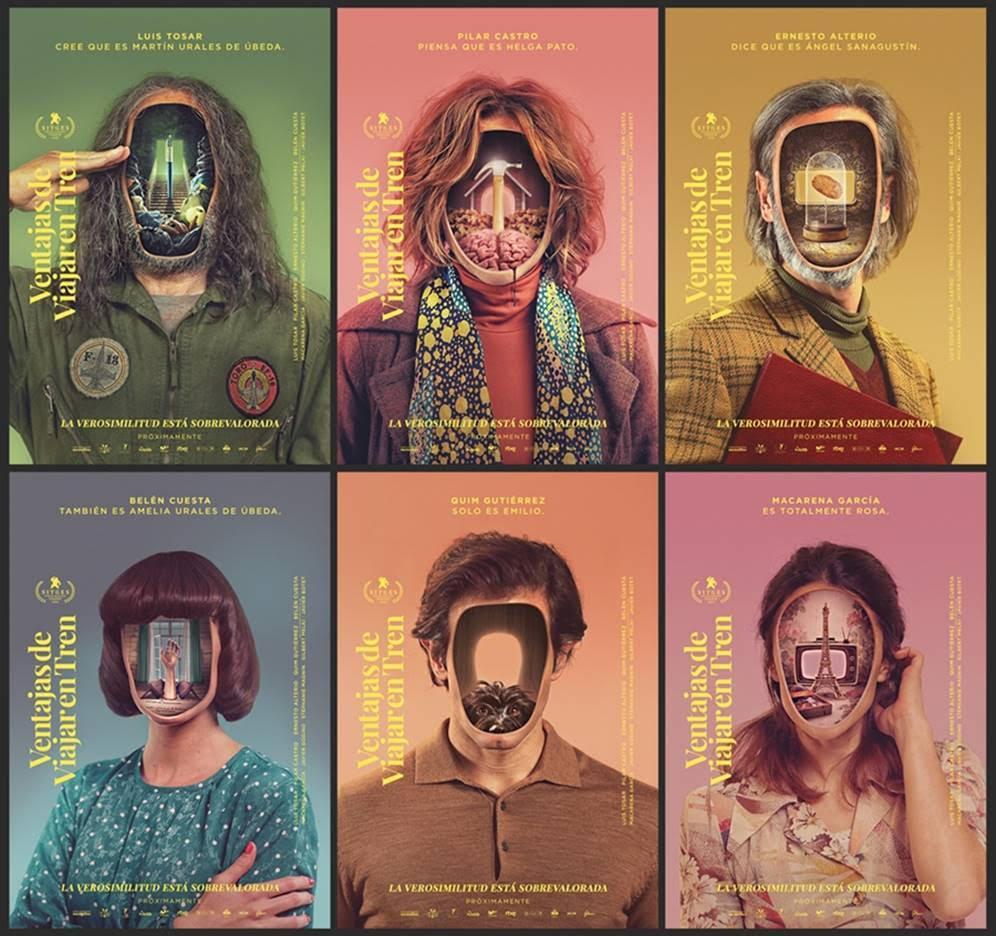 Carteles de la película de Aritz Moreno