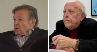 Luis Racionero y José Jiménez Lozano