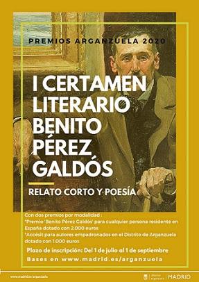 Certamen Literario Benito Pérez Galdós