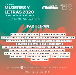 Mujeres y Letras 2020