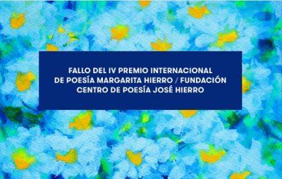 IV Premio Margarita Hierro