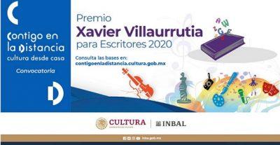 Premio Villaurrutia de Escritores para Escritores 2020
