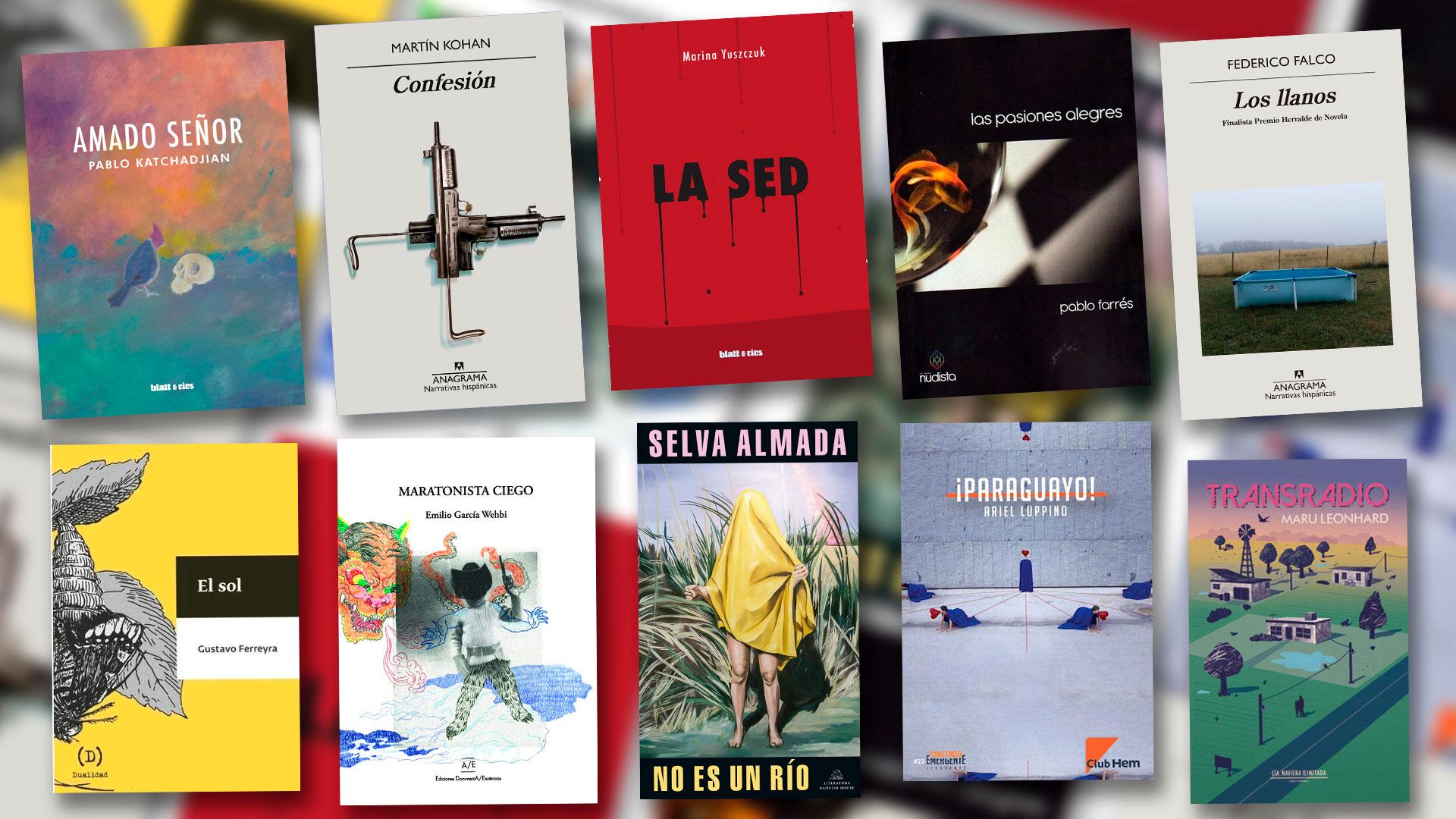 Novelas finalistas del Premio  Filba