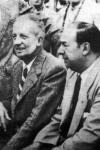 Neruda junto a Paul Éluard