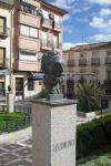 Busto en homenaje a Unamuno