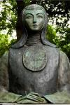 Busto de Sor Juana en Estados Unidos